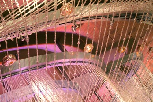 Mini-delites-and-pretty-ceiling-with-sparkles