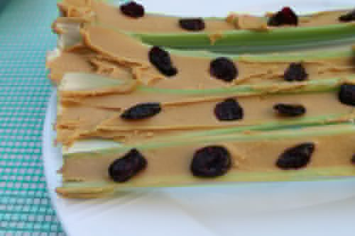 Ants-on-a-log-with-Craisins-for-a-healthy-snack