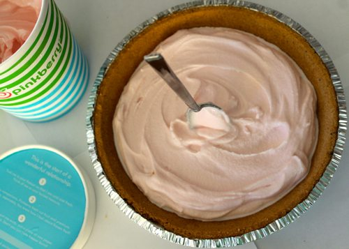 Fro-Yo-Peppermint-Pinkberry-Pie-with-a-pre-made-pie-crust