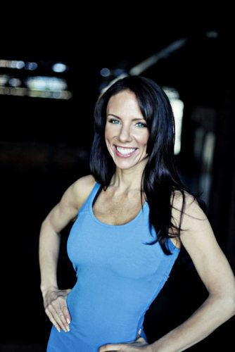 Carrie Rezabek Dorr, founder and owner of Pure Barre talks with Lauryn Evarts.