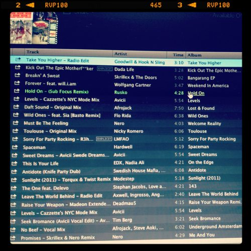 Lauryn Evarts talks with Jordan Bosstick about the best workout playlist for Summer 2012.
