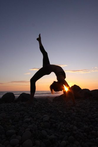 Lauryn Evarts talks with Jeanette Pearson about Haute Yoga and skinny tips and tricks.