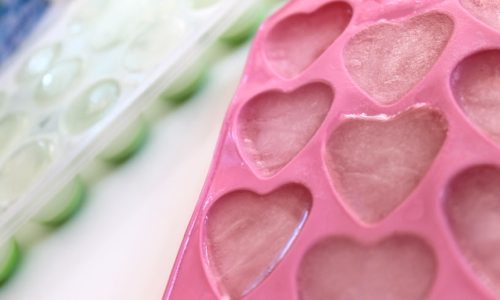 Coconut-water-ice-cubes-with-heart-and-regular-shaped-ice-cube-trays