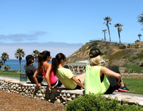 Fletcher's Cove Workout Group with Elena Erlandson, Sara Montazami, Lauryn Evarts, and Briana Reading