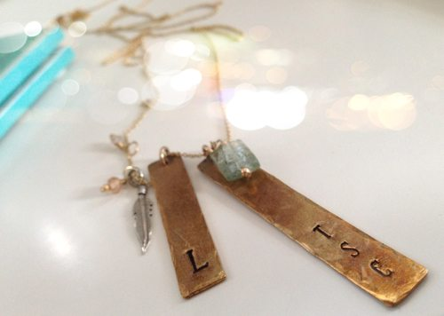 Lauryn Evarts and Jessica Kitty team up to bring you a Three Sisters Jewelry Design giveaway.