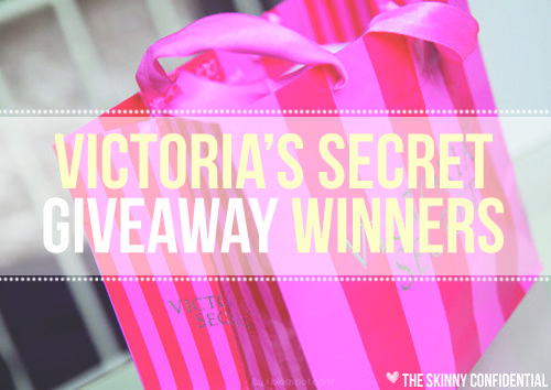 Victoria secret giveaway bag