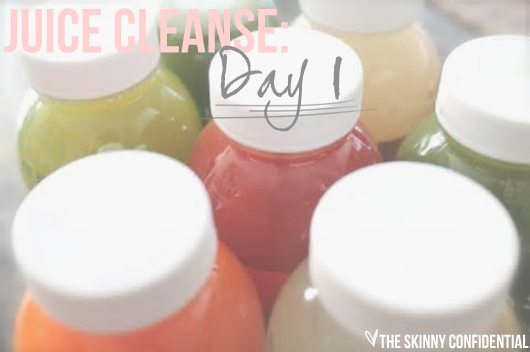 Lauryn Evarts does the three day Suja juice cleanse.