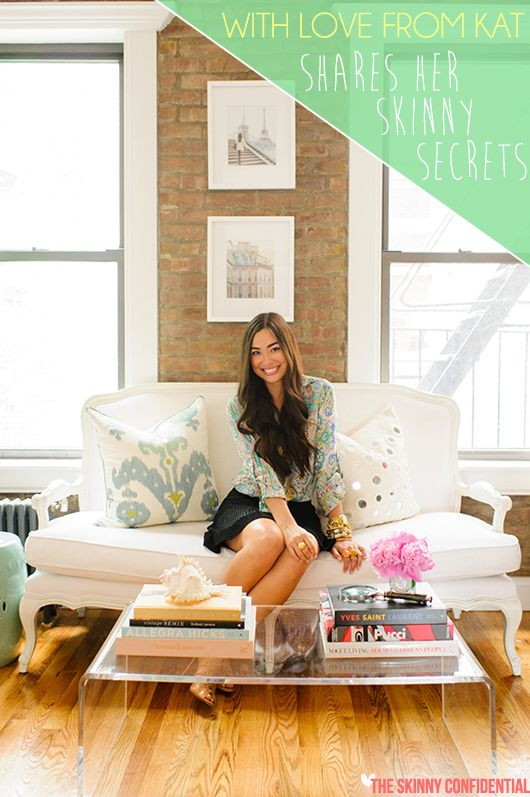 Lauryn Evarts talks with fashion blogger, With Love From Kat.