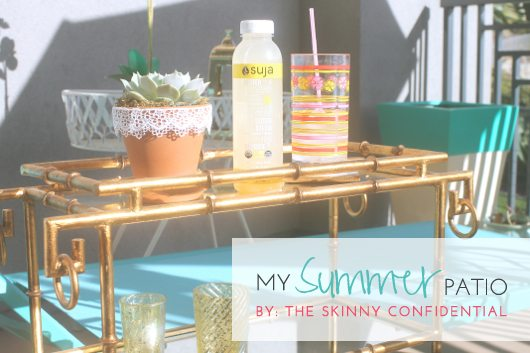 The Skinny Confidential shares her patio.