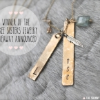 The Skinny Confidential x Three Sisters Jewelry.