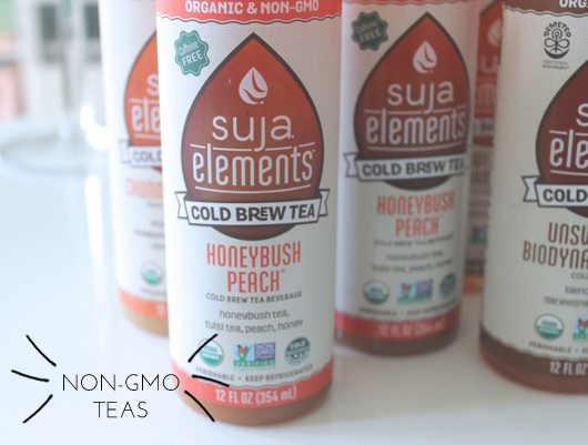 The Skinny Confidential shares Suja's tea launch.