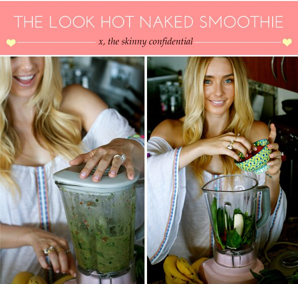 The Skinny Confidential shares her favorite green smoothie.