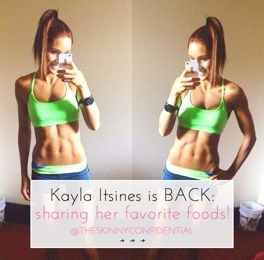 The Skinny Confidential x Kayla Itsines.