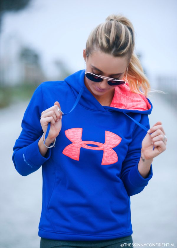 The Skinny Confidential x Under Armour by Gisele Bundchen.