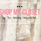 The Skinny Confidential shares her closet.