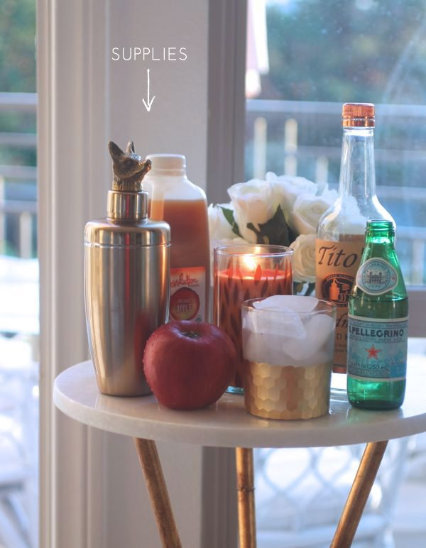 The Skinny Confidential shares her favorite apple fizz recipe.