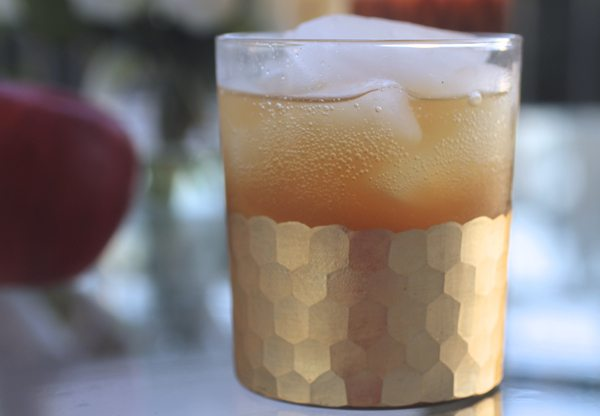 The Skinny Confidential's apple fizz.