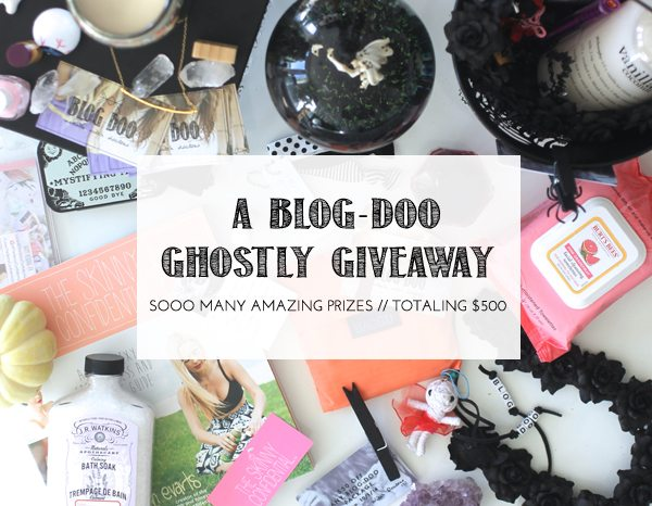 The Skinny Confidential shares a blog-doo giveaway.