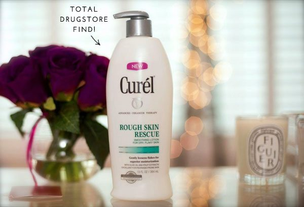 The Skinny Confidential x Curel Lotion.