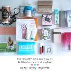 The Skinny Confidential's beauty box.