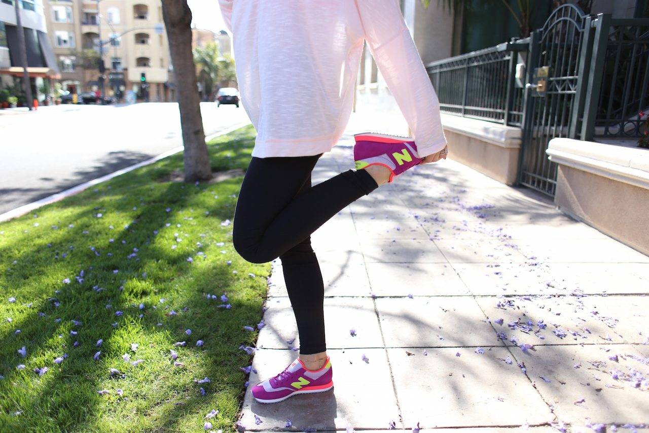 The Skinny Confidential talks leggings.