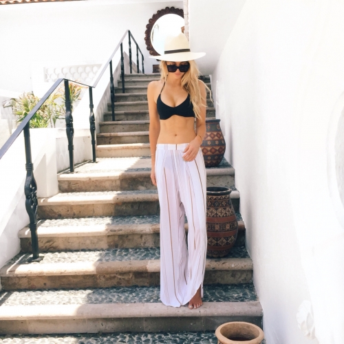 The Skinny Confidential talks Cabo outfits.