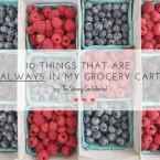 grocery list | by the skinny confidential