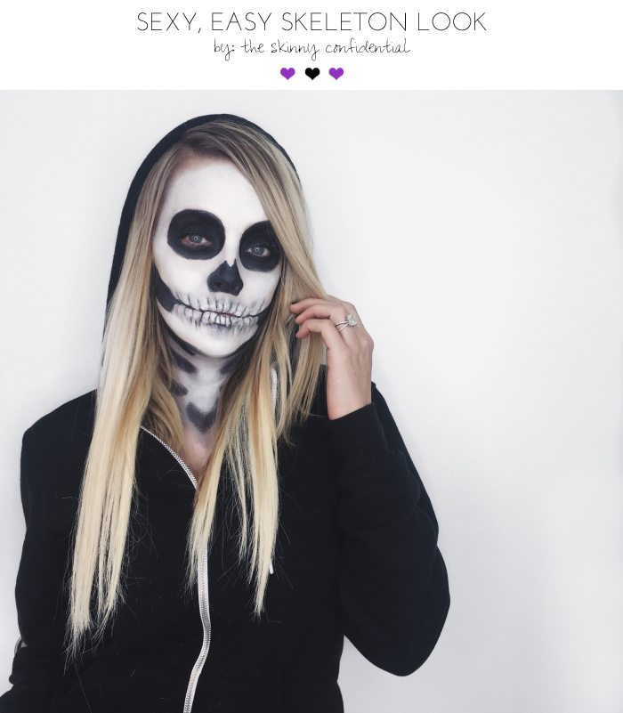 Sexy Scary Skeleton Makeup Tutorial That Anyone Can Do At Home