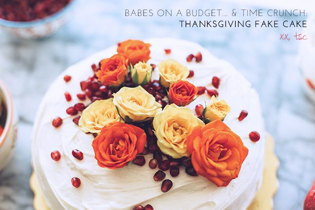 thanksgiving cake 3 _ by the skinny confidential