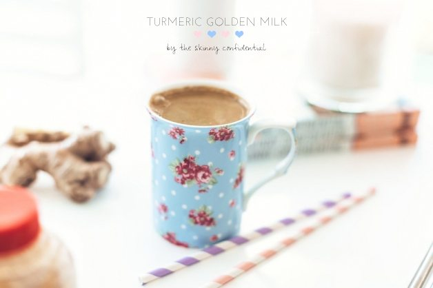 golden turmeric milk | by the skinny confidential