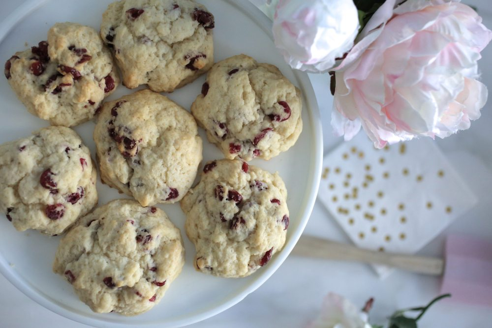 Easy cranberry scones 9 | by the skinny confidential