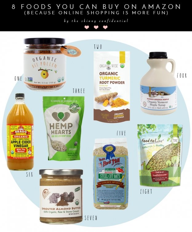 food you can buy on amazon | by the skinny confidential