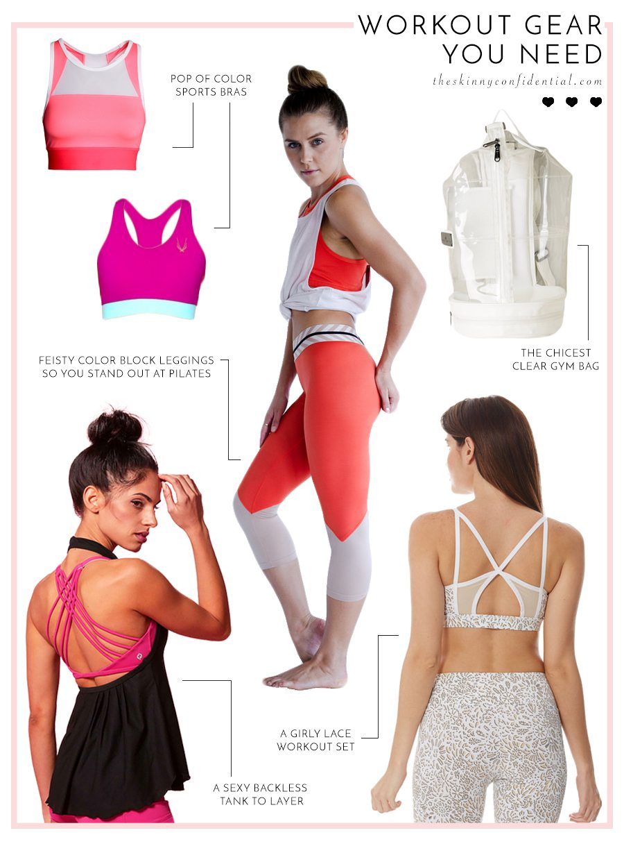 workout gear you need   by the skinny confidential