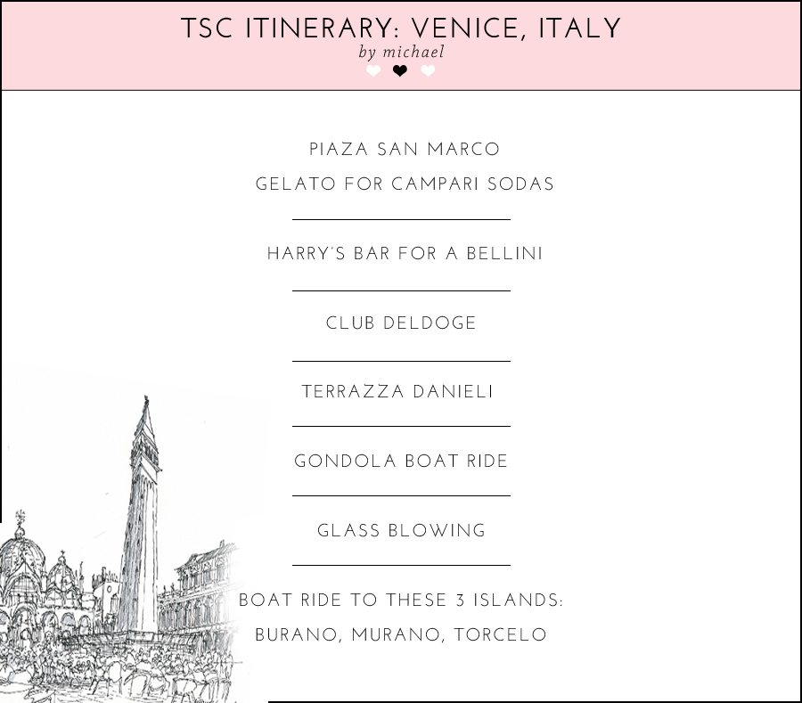 Venice itinerary | by the skinny confidential